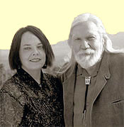 Nina Sammons and David Carson, authors of 2013 Oracle